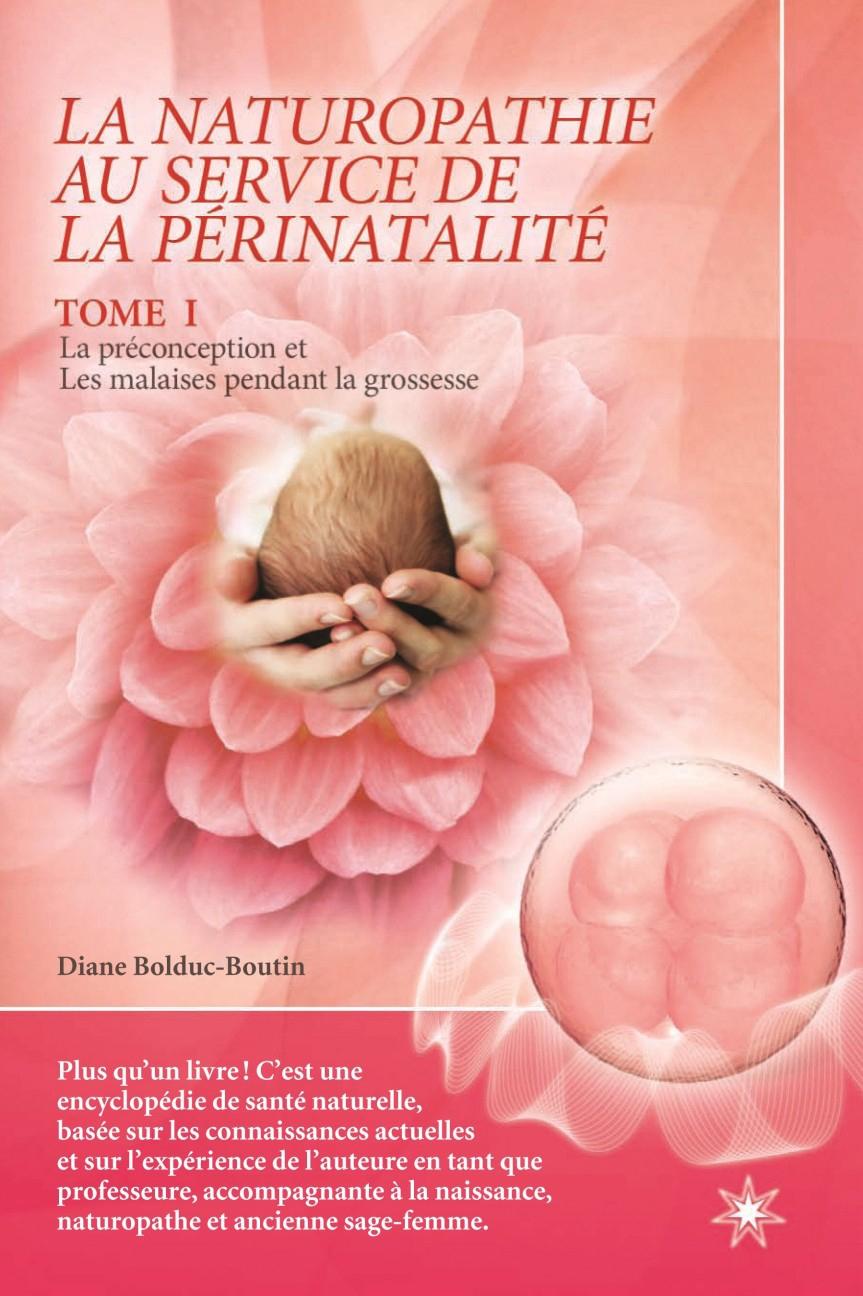 Livre Naturopathie et perinatalité